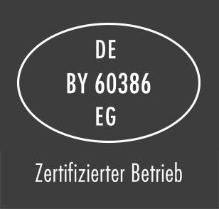 DE EZ-EV EG 1616 - Zertifizierter Betrieb